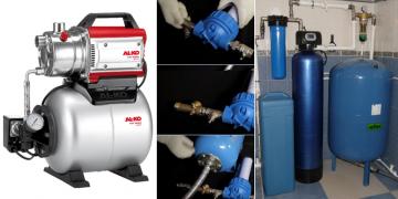 Схема подключения гидроаккумулятора к насосу и системе водоснабжения