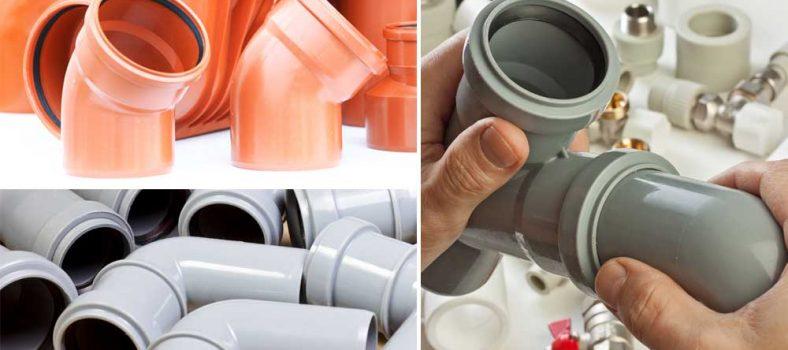 Отвод канализационный пластиковый