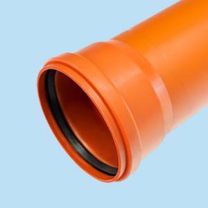 Гладкие трубы для наружной канализации