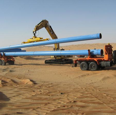 Монтаж магистральных газопроводов