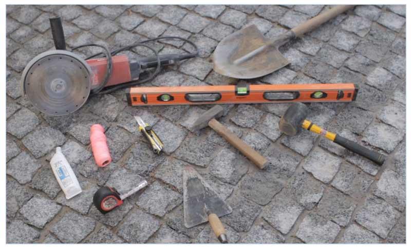 Инструмент для установки дождеприемников