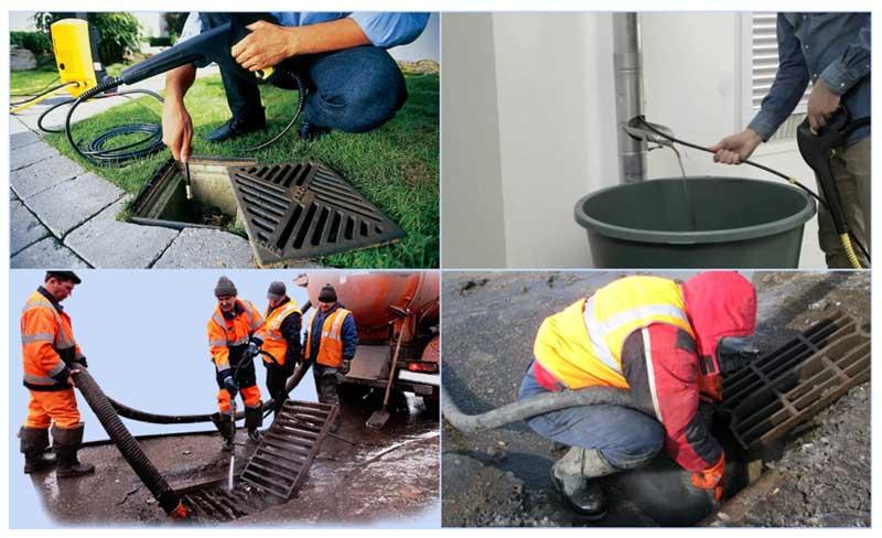 Обслуживание дождеприемников для ливневой канализации