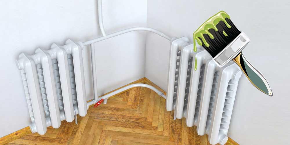 Можно ли красить трубы отопления и радиаторы в квартире