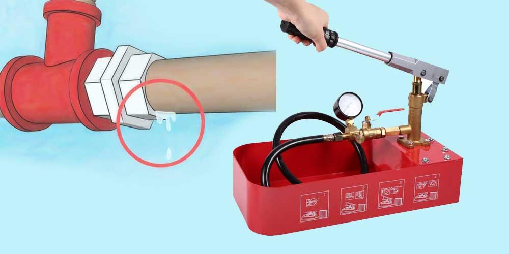 Ручные гидравлические насосы для опрессовки систем отопления