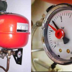 Почему растет давление в системе отопления
