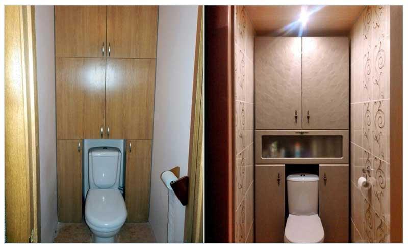 Отделка туалета мдф