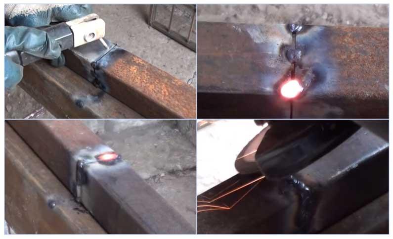 Сварка профильной трубы 2 мм