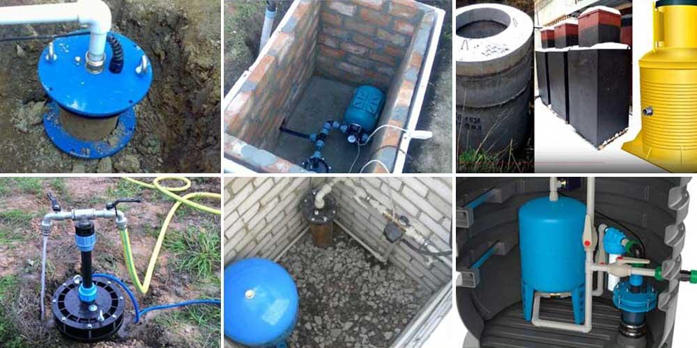 Обвязка скважины для индивидуального водоснабжения