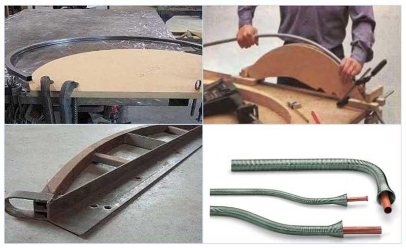 Как согнуть трубу без трубогиба - приспособления