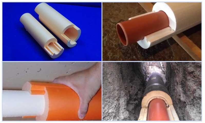 Утепление наружной канализации пеноплексом