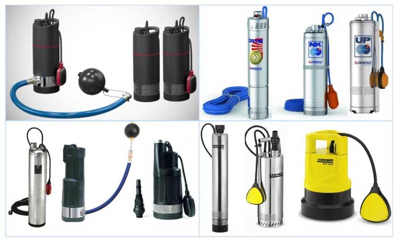 Колодезные насосы для водоснабжения