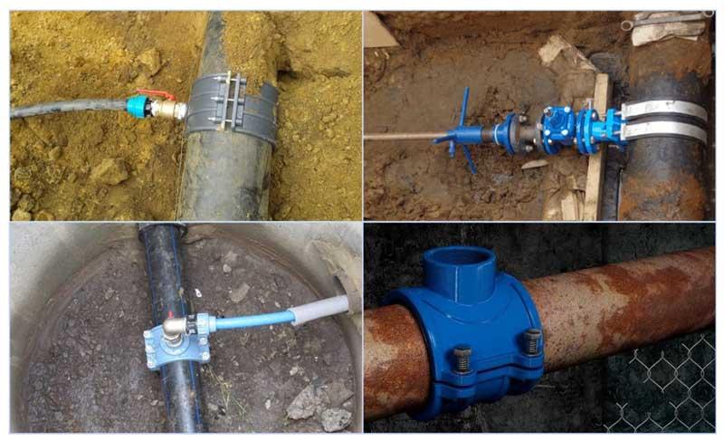 Подключение частного дома к центральному водопроводу путем врезки