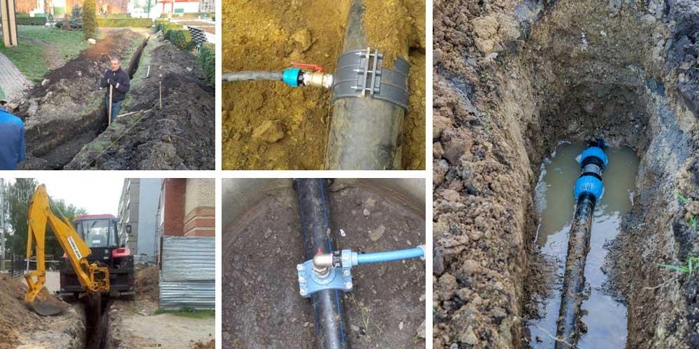 Как подвести воду к земельному участку