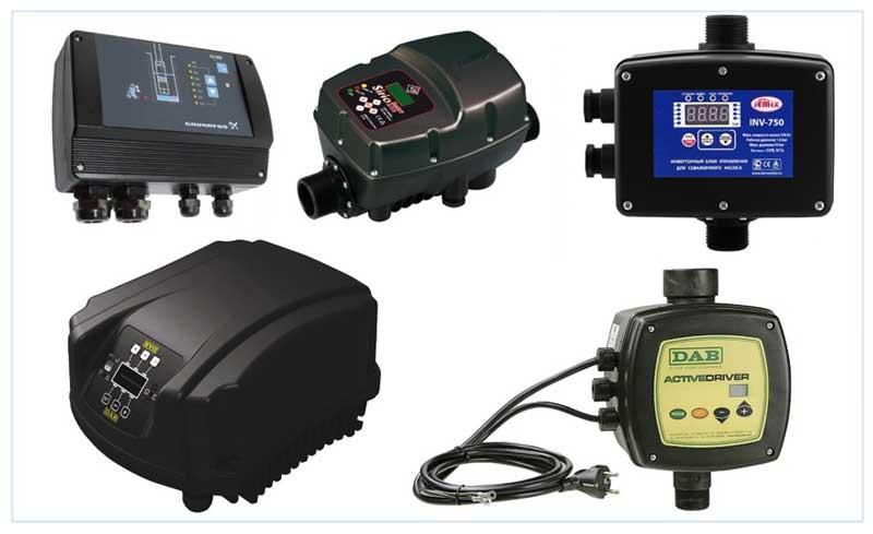 Приборы автоматического управления со встроенными датчиками
