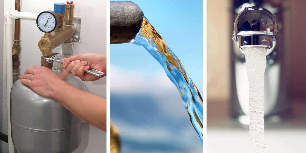 как увеличить давление воды в частном доме из водопровода