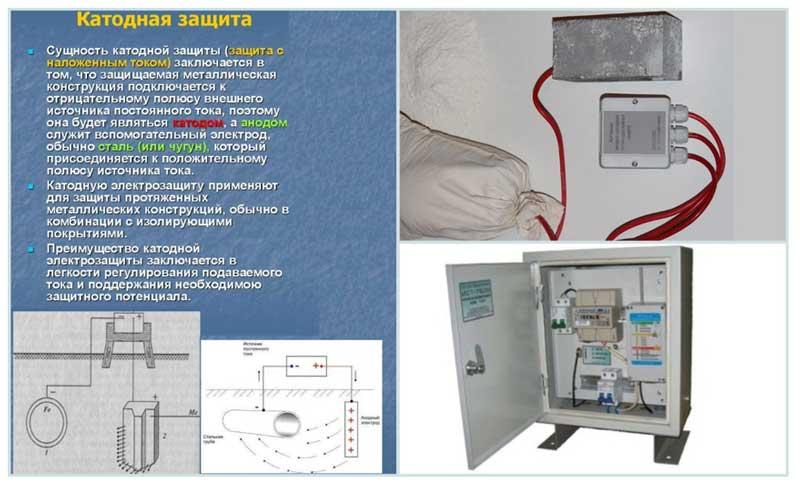Активная катодная защита при газификации дома