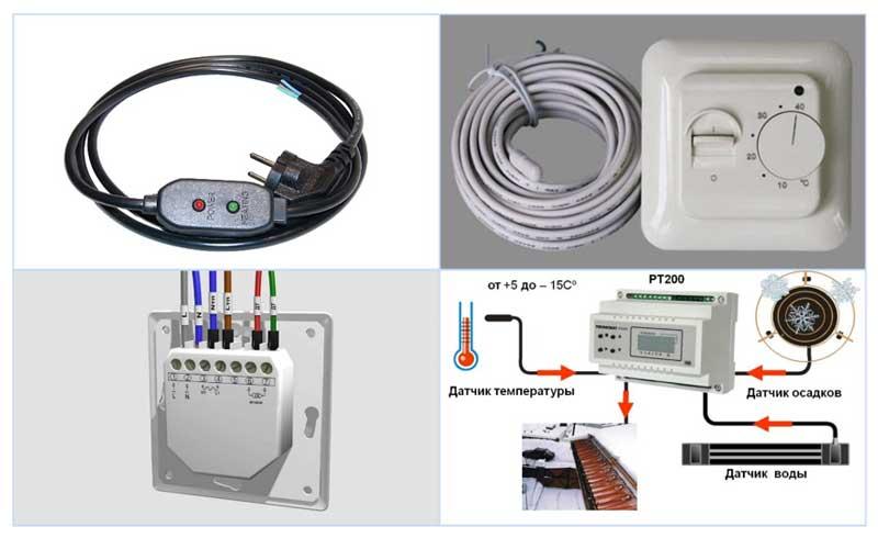 Терморегуляторы для греющего кабеля