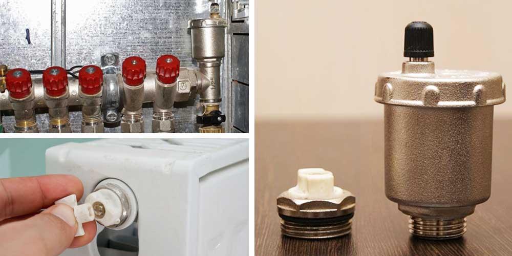 Клапан для спуска воздуха из системы отопления: какие бывают спускники на батарее отопления для автоматического и ручного сброса воздуха, спускной кран, как поставить воздушник