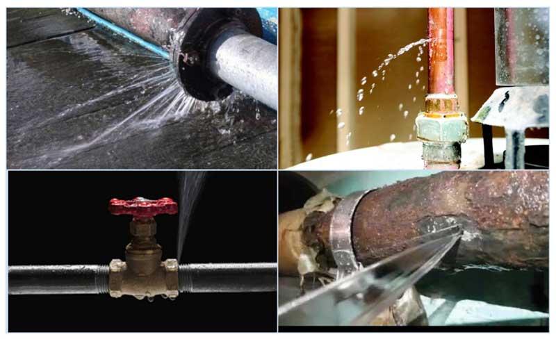 Протечки водопровода