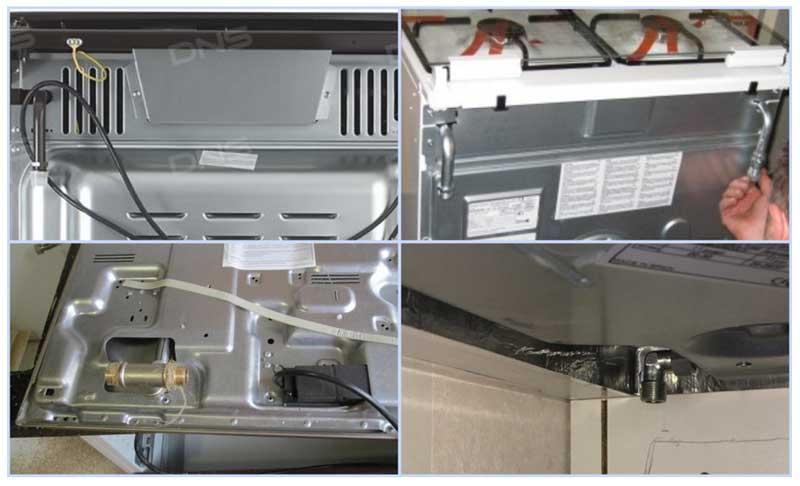 Патрубки для присоединения газовых плит и панелей