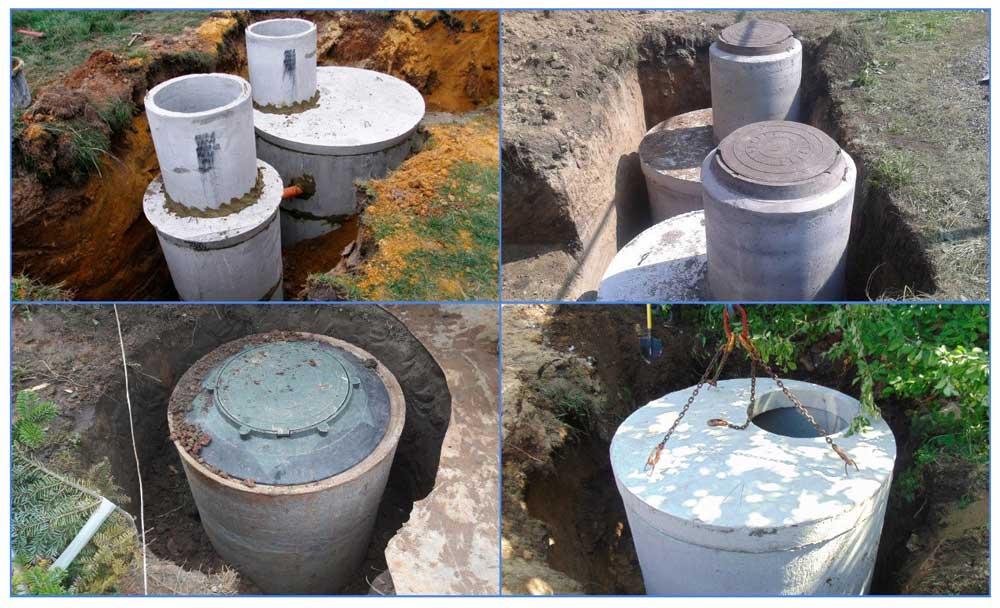 Кольца для канализации из ЖБИ