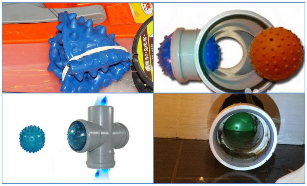 Пневматические заглушки на канализацию
