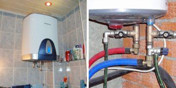 Подключение бойлера к водопроводу