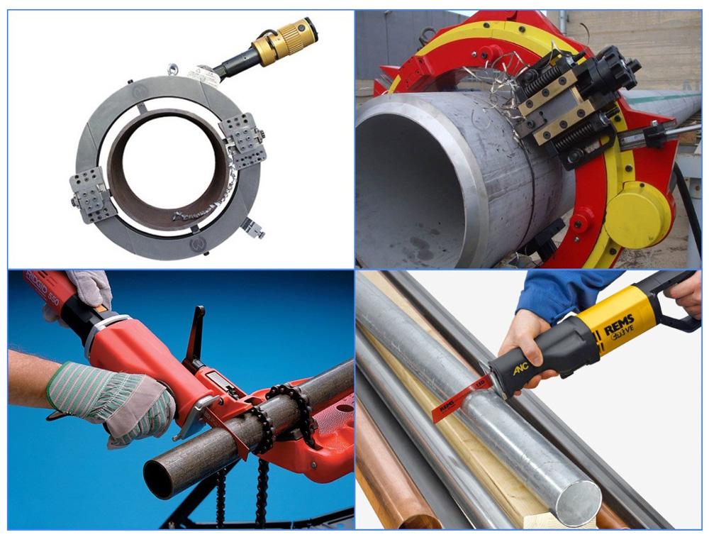Электрические пилы для резки стальных труб