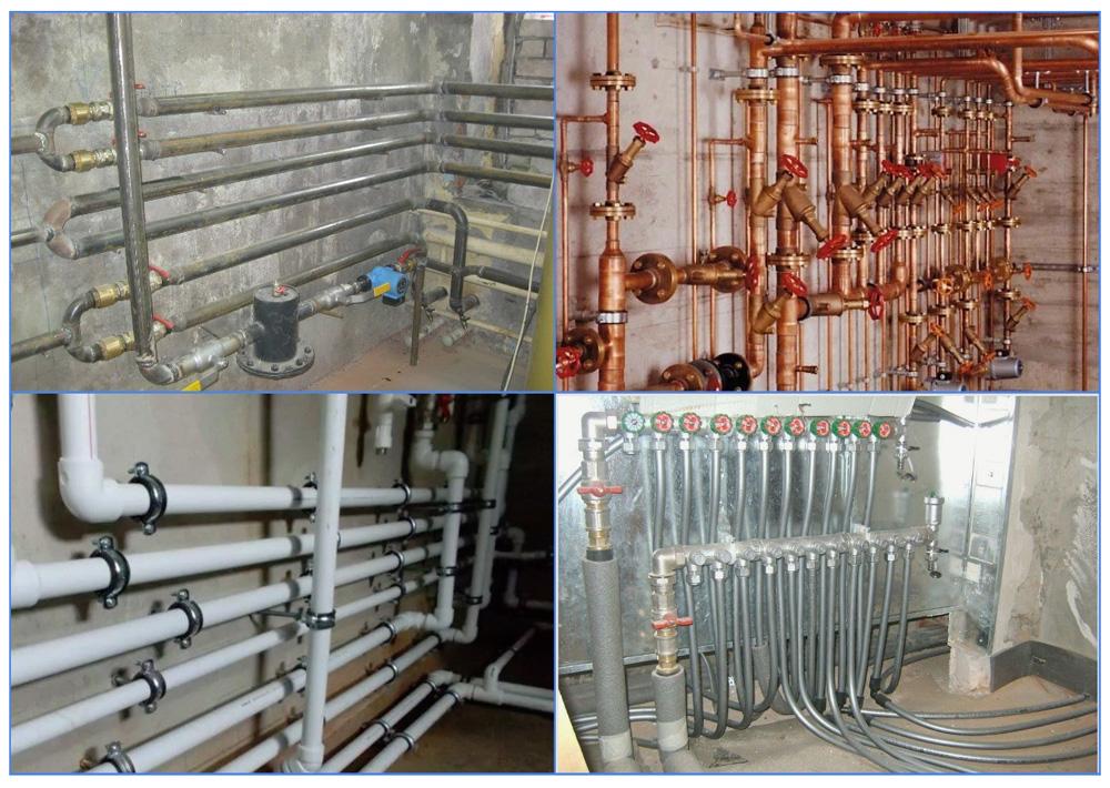 Виды труб и трубопроводов