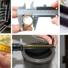 Как измерить диаметр трубы