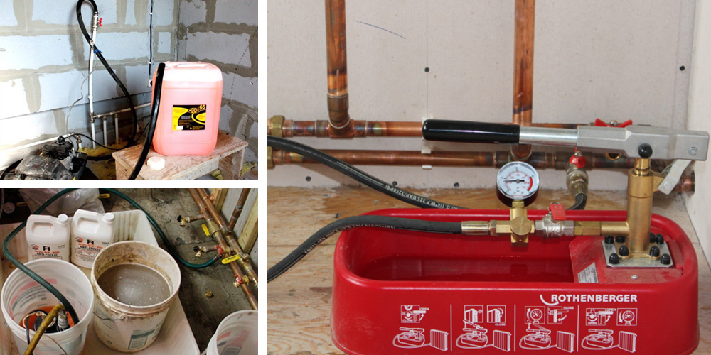 Как заполнить систему отопления закрытого типа антифризом