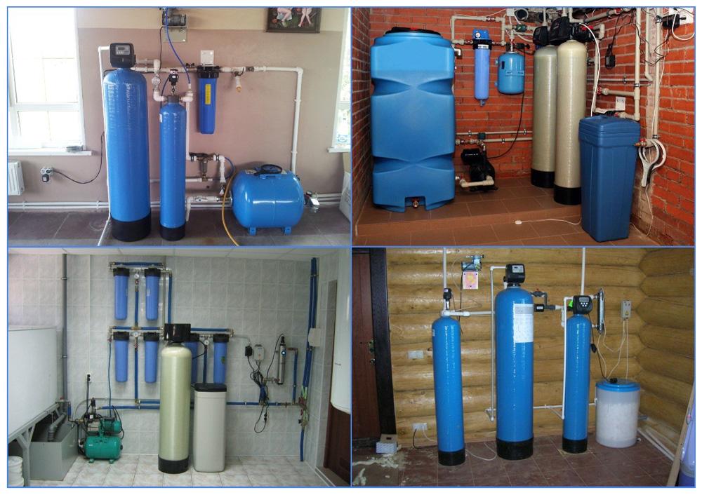 Обезжелезивание воды из скважины в бытовых условиях