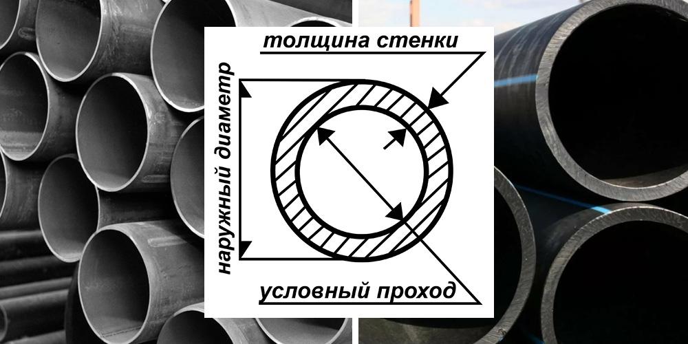 Условный проход трубы это что означает и как его узнать