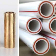 1/2 дюйма труба в мм - стальная и пластиковая труба и их отличия