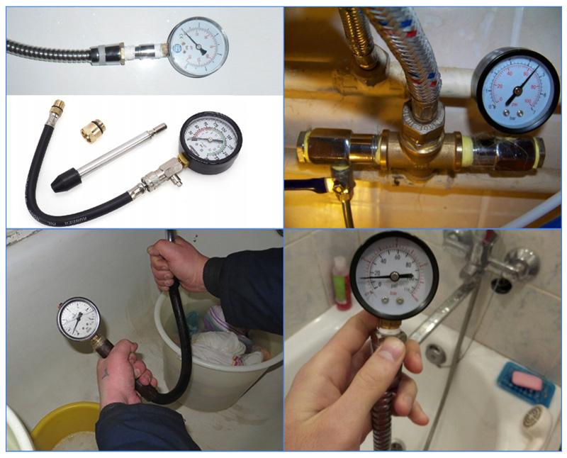 Замер давление воды в водопроводе многоквартирного дома