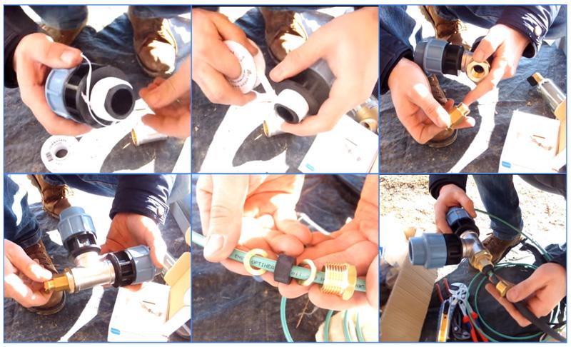 Этапы монтажа греющего саморегулирующегося кабеля для обогрева труб