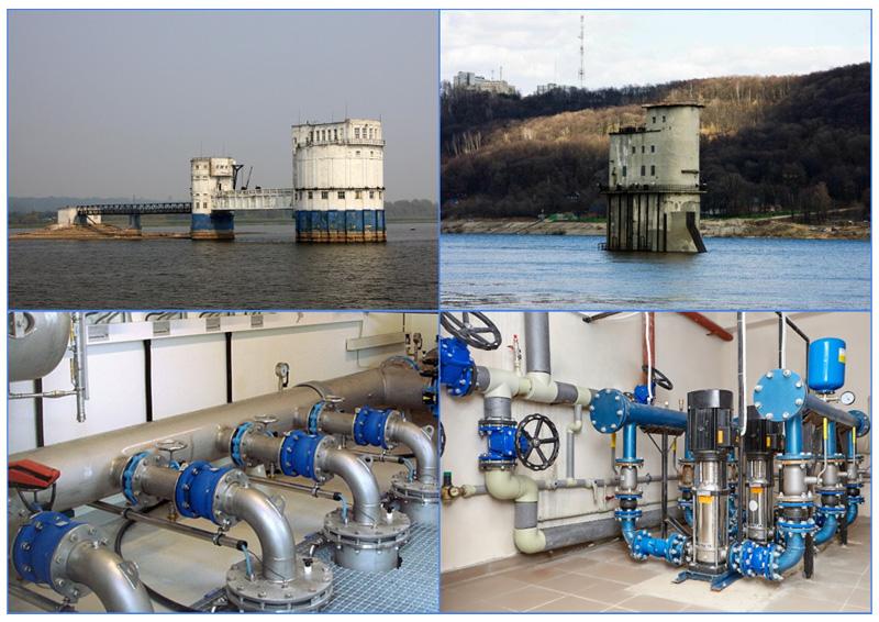 Водозаборные сооружения в открытых водных бассейнах