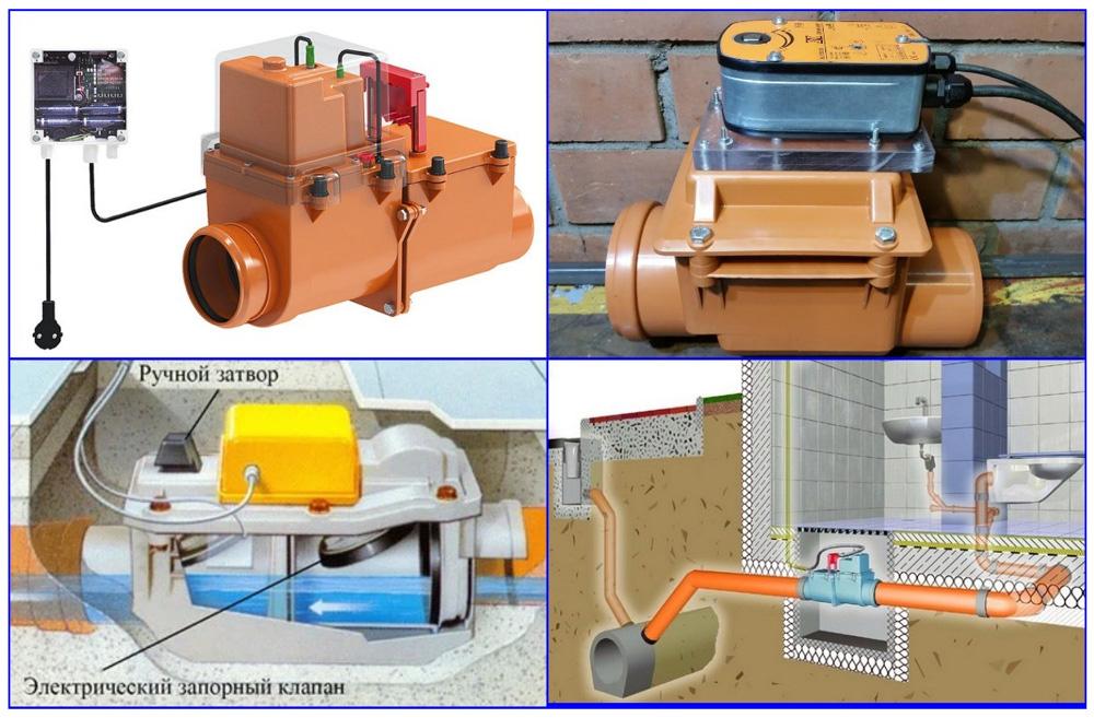 Запорные клапаны с сервоприводом и варианты их монтажа