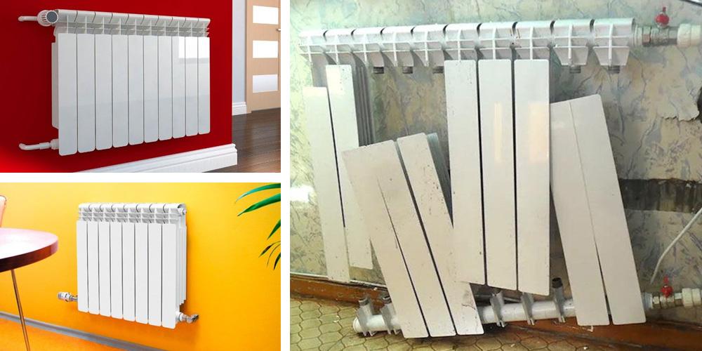 Подключение биметаллических радиаторов отопления