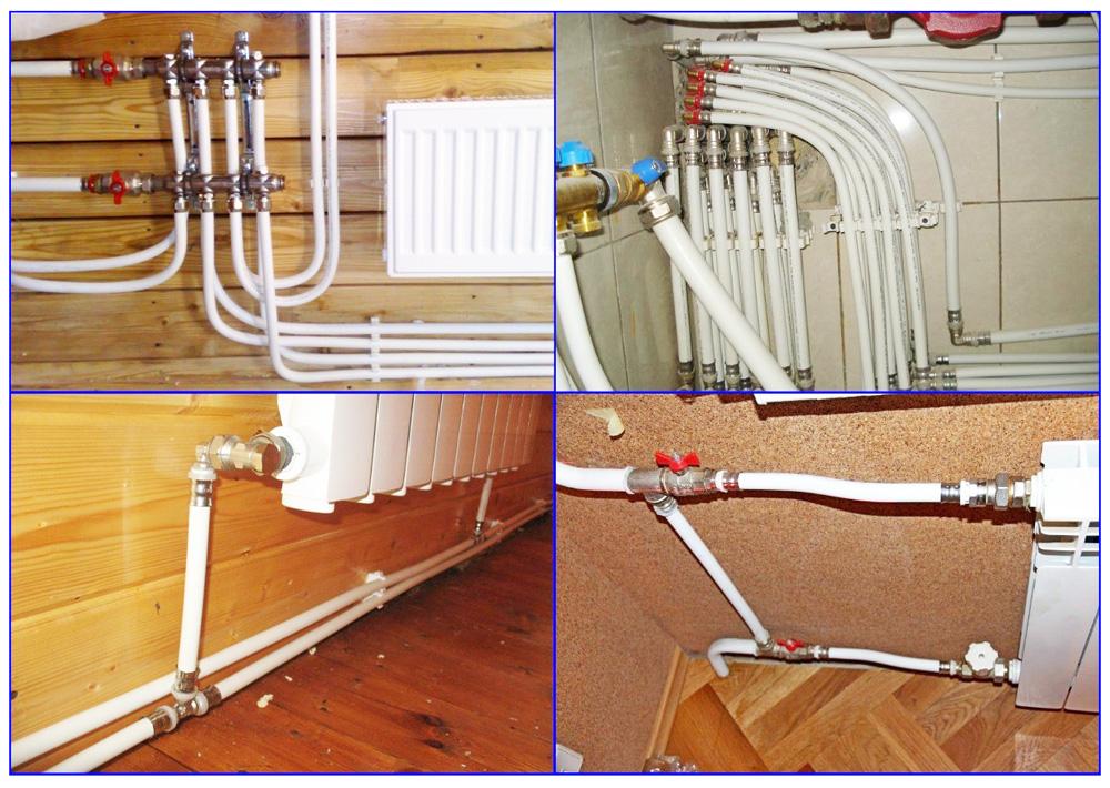 Металлопластиковые трубы в системе отопления