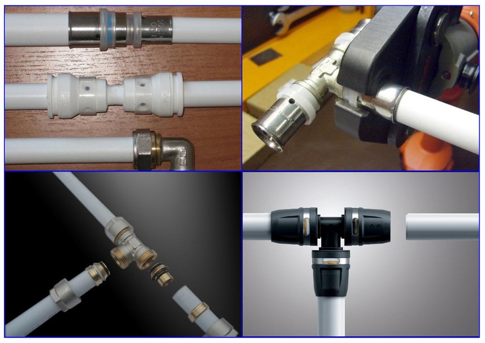 Методы соединения труб из металлопласта