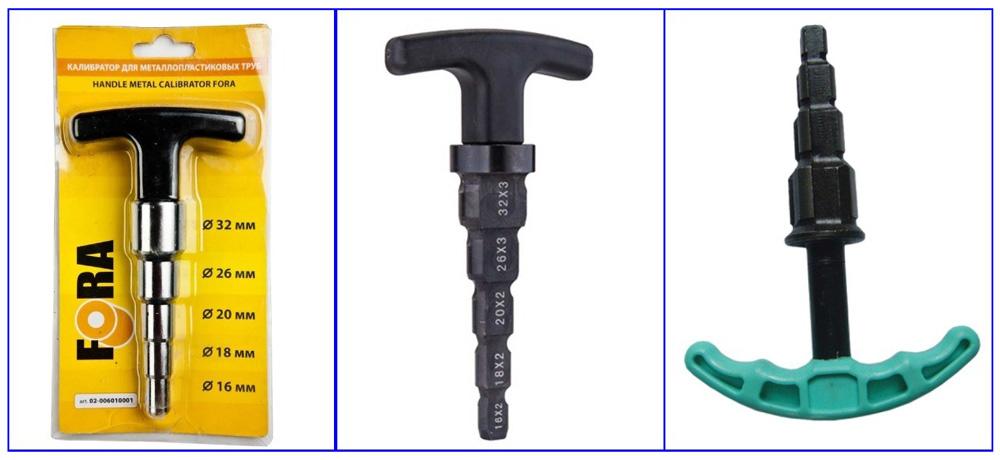 Калибраторы-вальцевателидля металлопластиковых труб