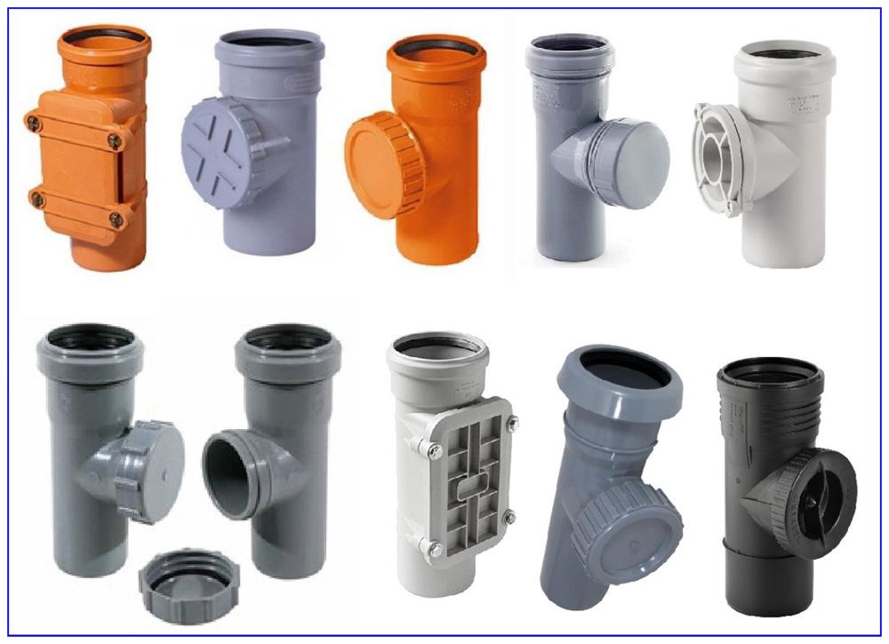 Ревизия канализационная пластиковая