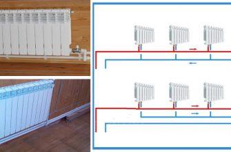 Двухтрубная система отопления – все схемы