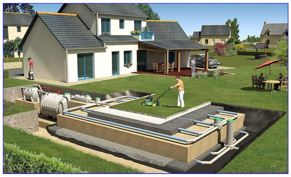 Как устроена автономная канализация частного дома, с чего и как начать монтаж.