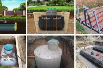 Автономная канализация - устройство и варианты обустройства.