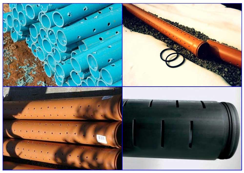 Самодельные дренажные трубы из полимерных труб.