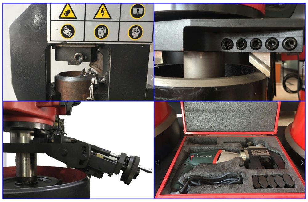 Принцип работы кромкорезов с резцами и комплектация машинки Metabo.