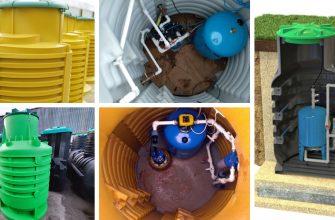 Пластиковый кессон для скважины - виды, конструкции, монтаж.
