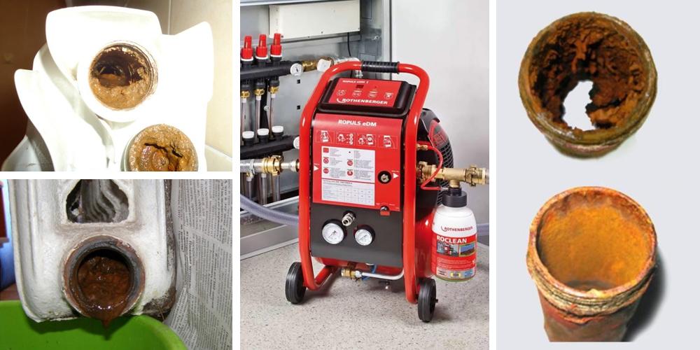 Промывка системы отопления в частном доме - методы, оборудование.